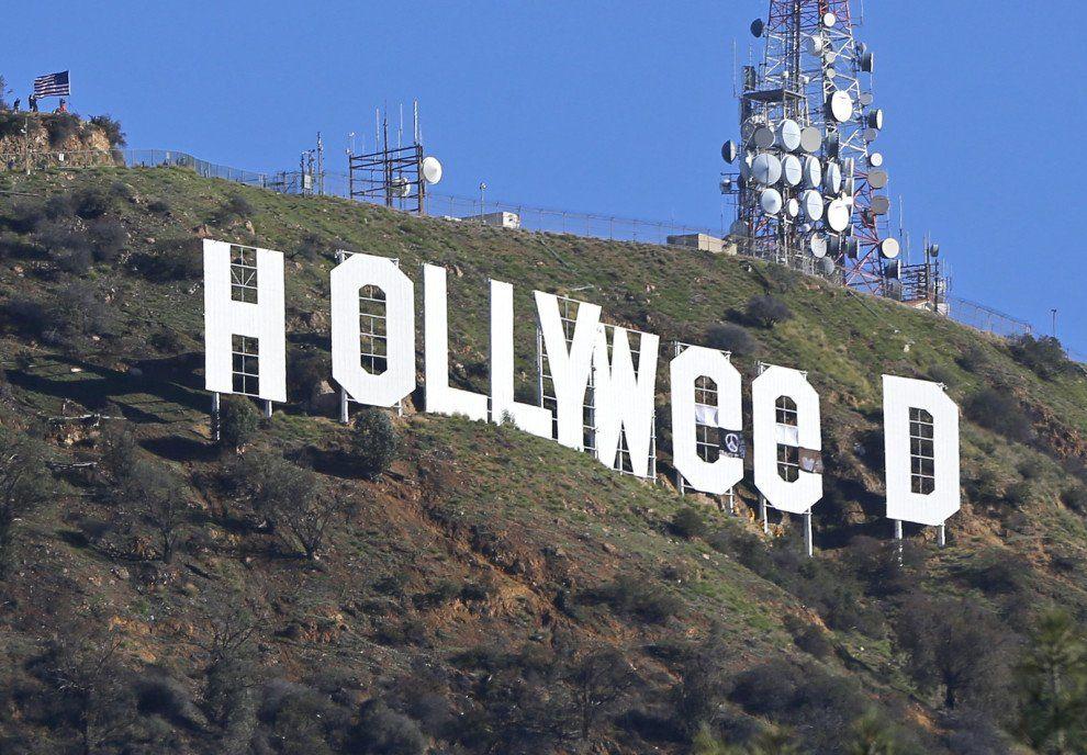 История знаменитого памятного знака Hollywood / фото АР