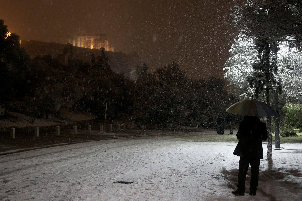 Снігопад у Греції / Reuters
