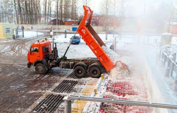 В Киеве установят снегоплавильные камеры / c-o-k.ru