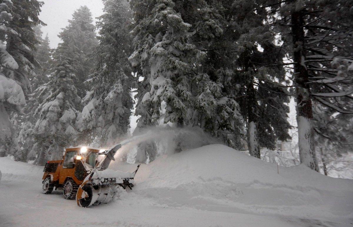 Снігопад у Неваді / Reuters