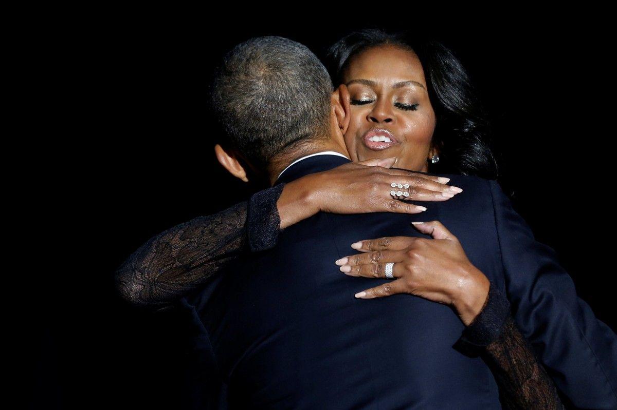 Мишель и Барак Обама / REUTERS