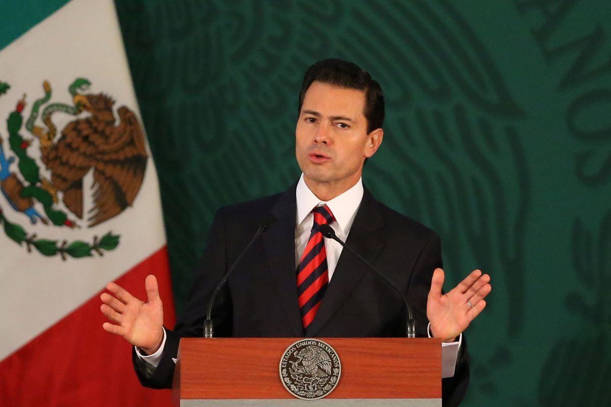 Президент Мексики Энрике Пенья Ньето / REUTERS