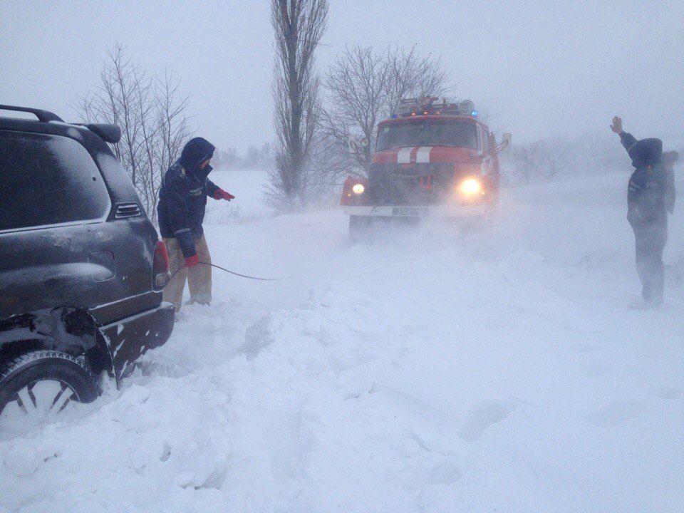 У вівторок в Одесу прийде снігопад / dsns.gov.ua