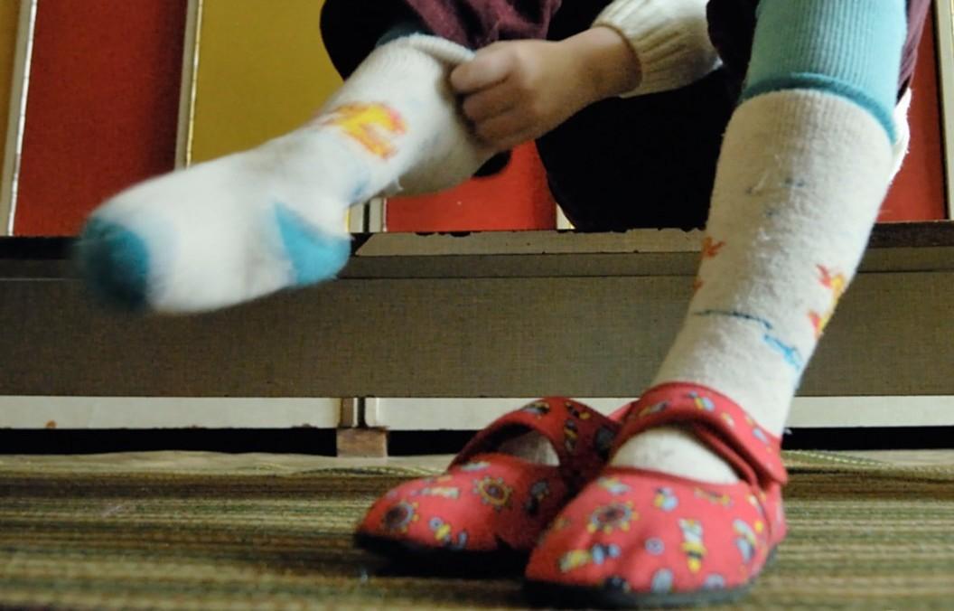 Відмітна особливість шкарпеток – застосування унікальних, гнучких сенсорів / Фото: УНІАН
