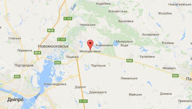 Поліція розшукує нападників / Скріншот google.com.ua/maps