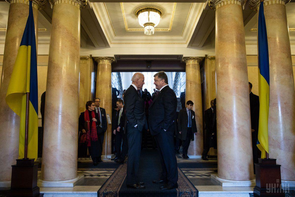 New tapes of Biden-Poroshenko talks have been released / Photo from UNIAN