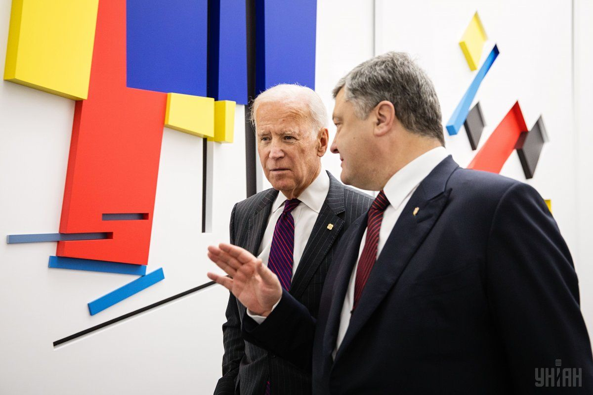 В сети появились аудиозаписи разговоров Байдена и Порошенко / фото УНИАН