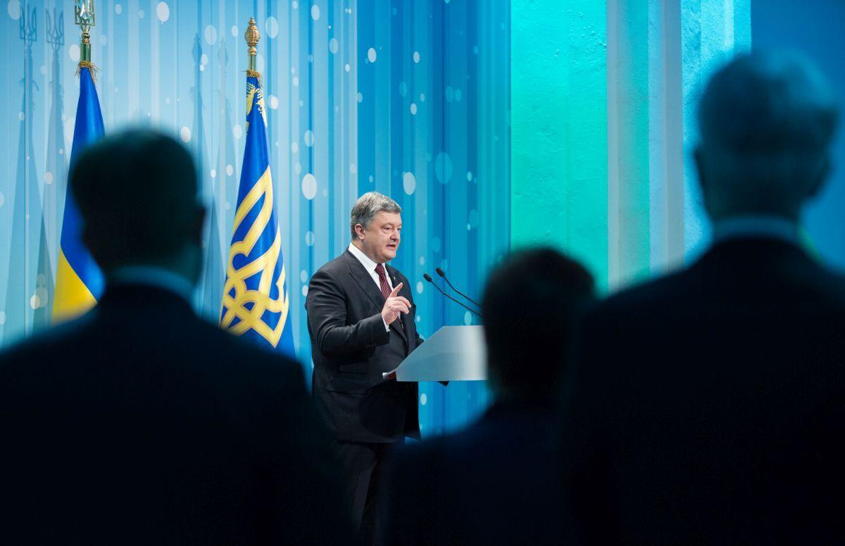Poroshenko will meet with the Ukrainian Diaspora in Estonia and Finland / Photo from president.gov.ua