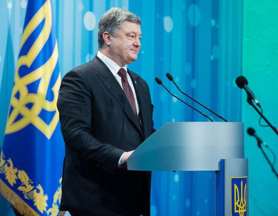 Порошенко отметил, что санкции будут сняты, когда войска РФ уйдут с украинской земли / twitter.com/APUkraine