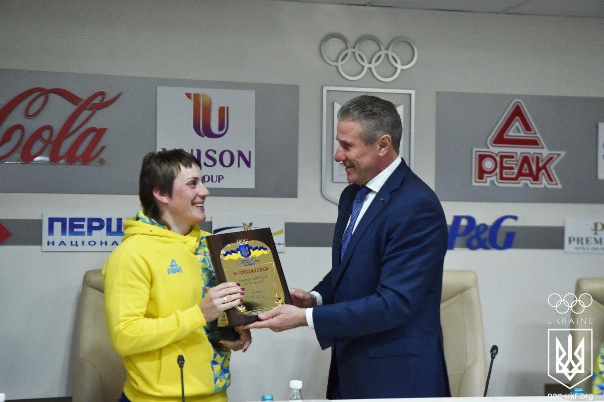 Любов Басова вдруге отримала нагороду кращої спортсменки місяця / noc-ukr.org