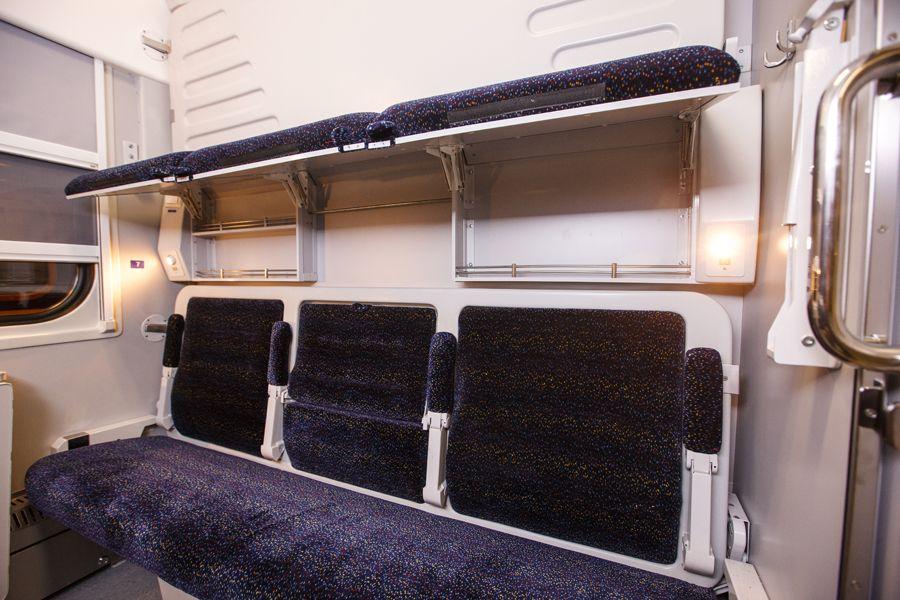 Купе нового вагона-трансформера / kvsz.com