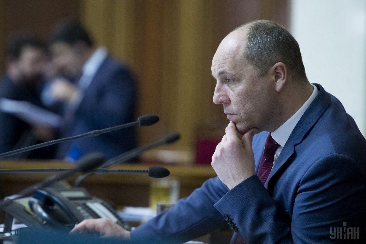 Парубий не понимает ситуации с представлениями на отдельных депутатов / фото УНИАН