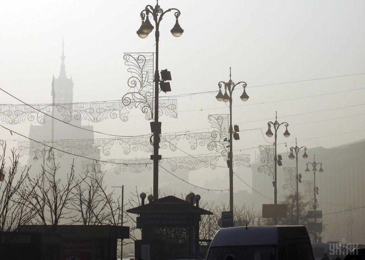 В Киеве сегодня без осадков / УНИАН