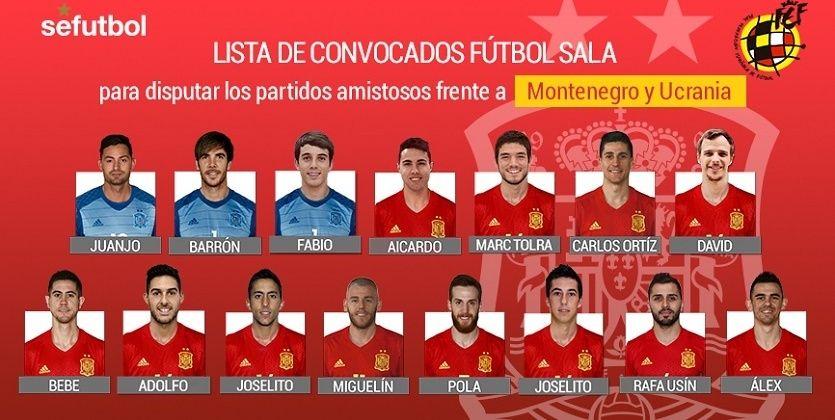 Сборная Испании огласила состав / www.rfef.es