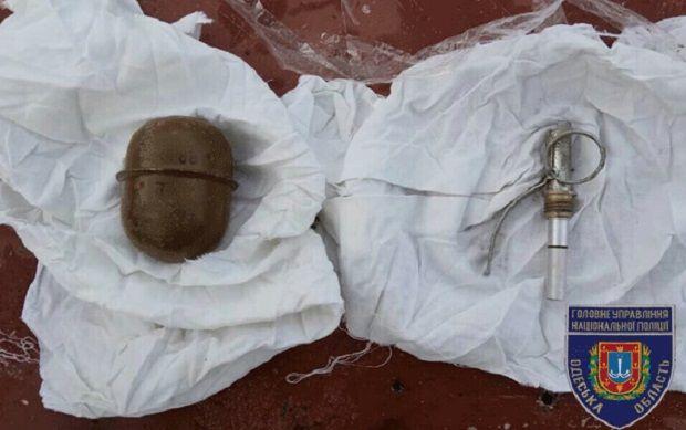 В доме обнаружили также и тротиловые шашки / od.npu.gov.ua