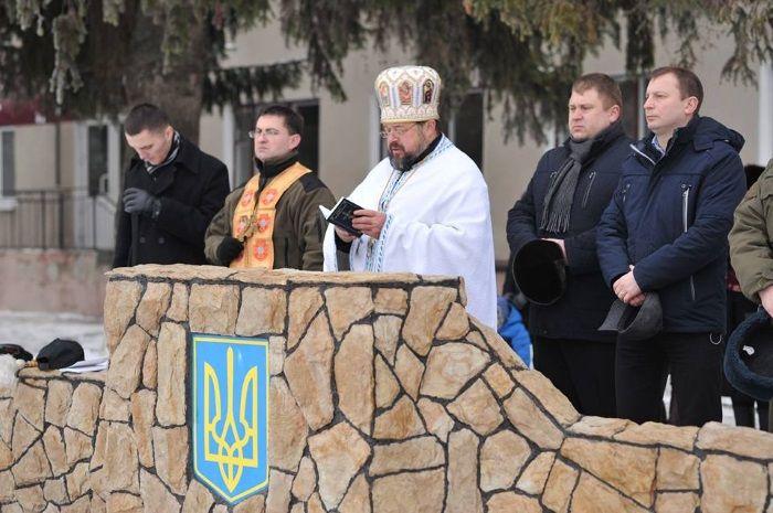 Представники духовенства благословили їх у далеку дорогу / фото: прес-служба ТОДА
