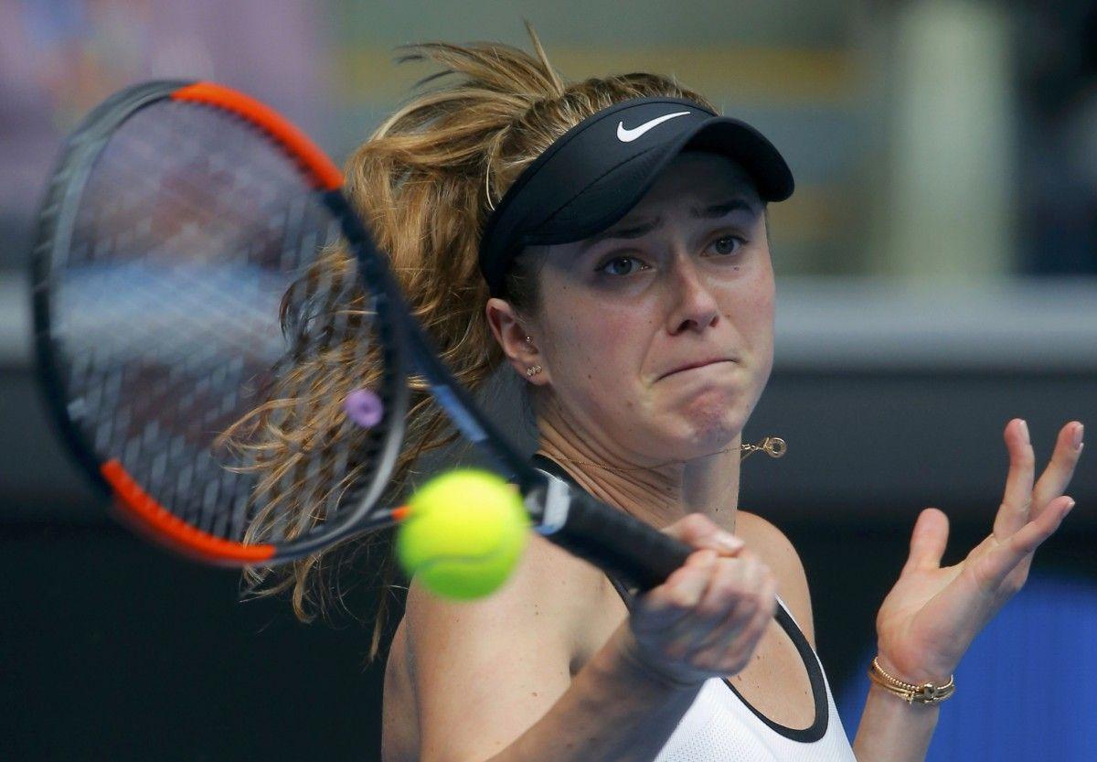 Світоліна останньою з українок покинула Australian Open / Reuters