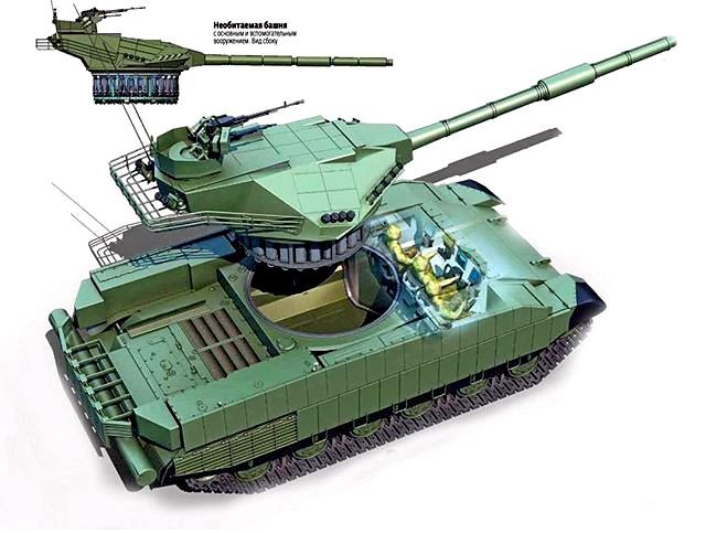 New Ukrainian project, a T-Rex tank / Gazeta.ua