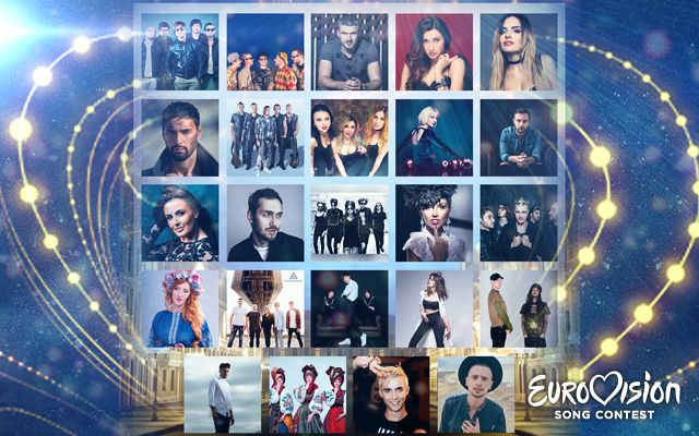 2017 Eurovision draw results / Image from eurovision.stb.ua