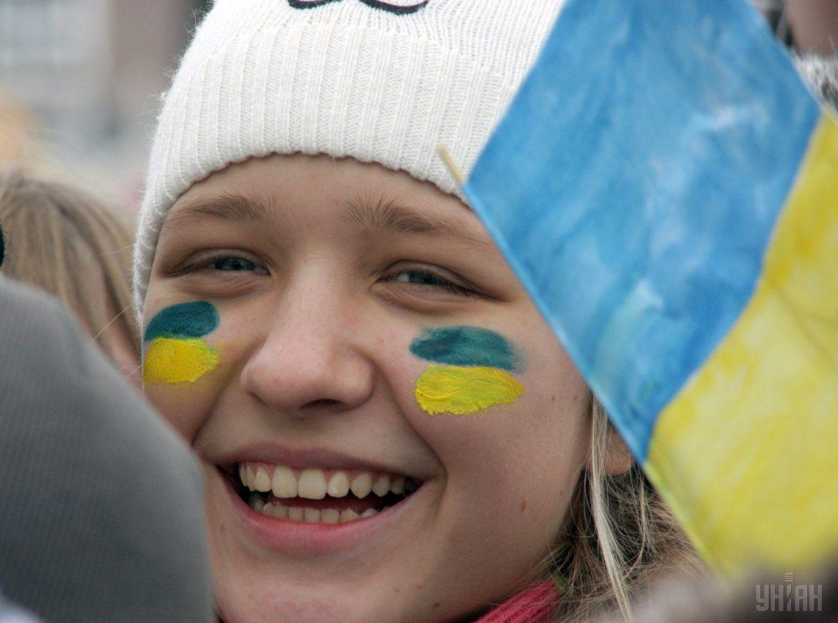 З нагоди Дня Соборності українці проводять акції на знак єднання / Фото УНІАН