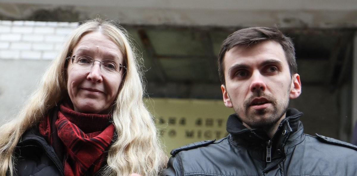 Ульяна Супрун и заместитель министра здравоохранения Павел Ковтонюк / Фото: УНИАН