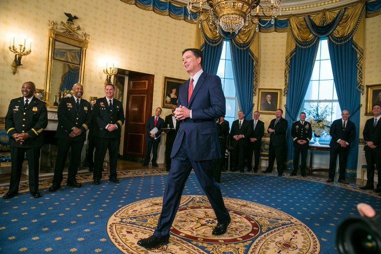 James Comey / The New York Times