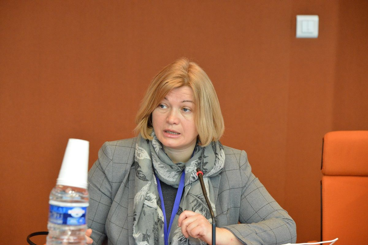 Iryna Gerashchenko is also concerned about the environmental situation in Donbas / Photo from UNIAN