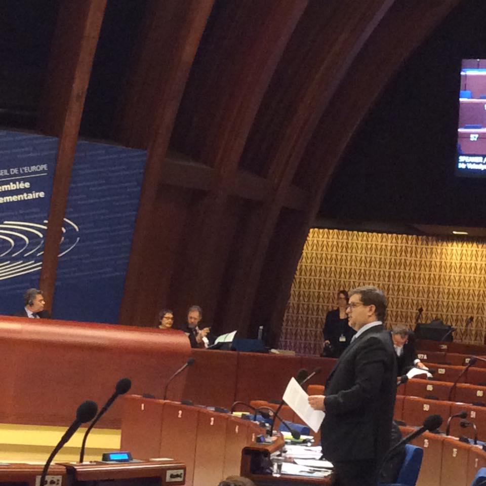 У ПАРЄ назріла криза / фото Ірина Геращенко, Facebook
