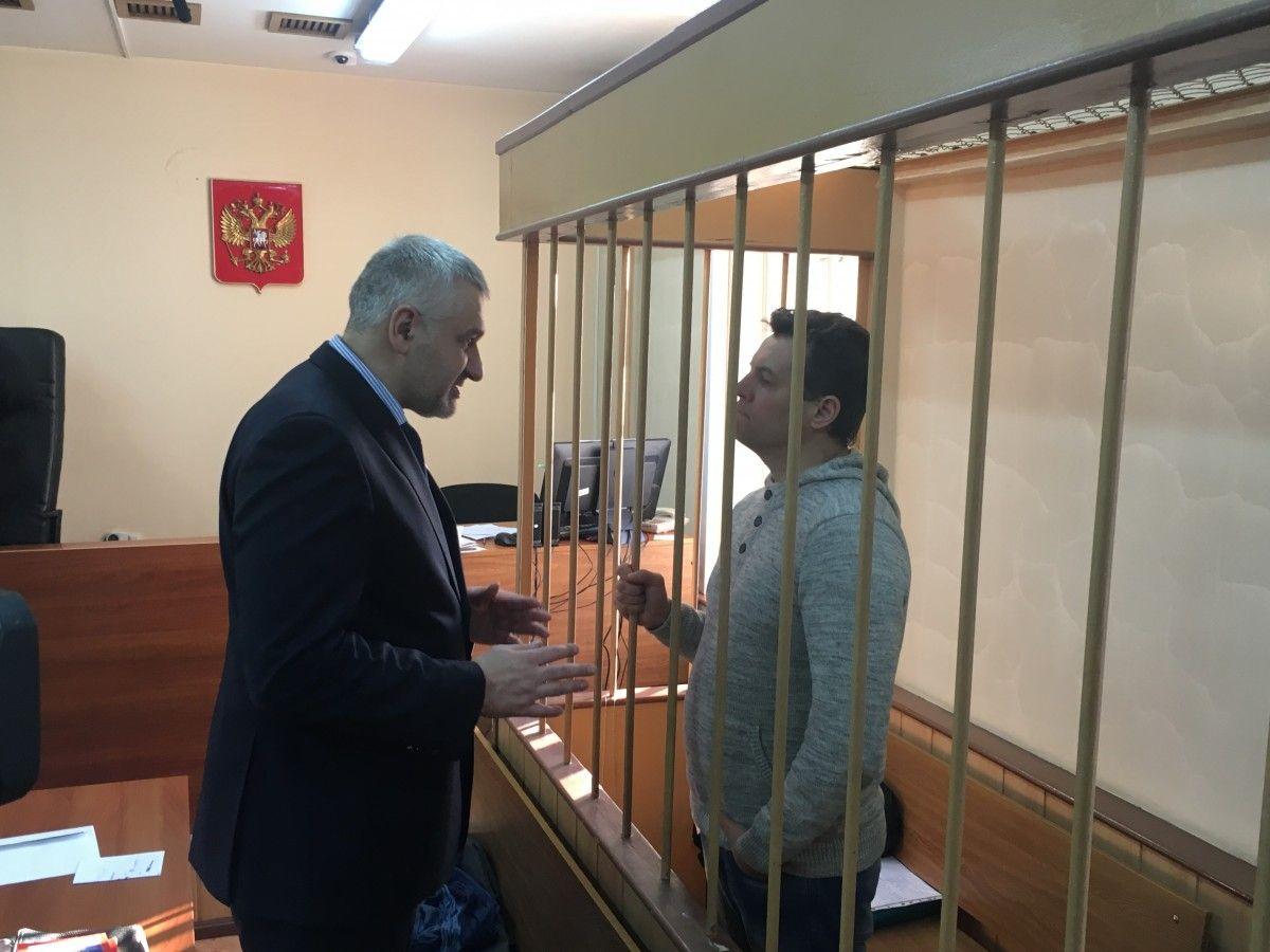 Сущенко вважає, що його хочуть позбавити захисту в російських судах / фото УНІАН