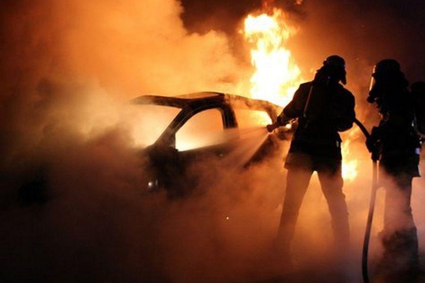 Загорівся автомобіль