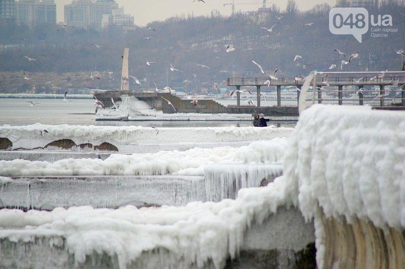 В Одесі замерзло море / 048.ua