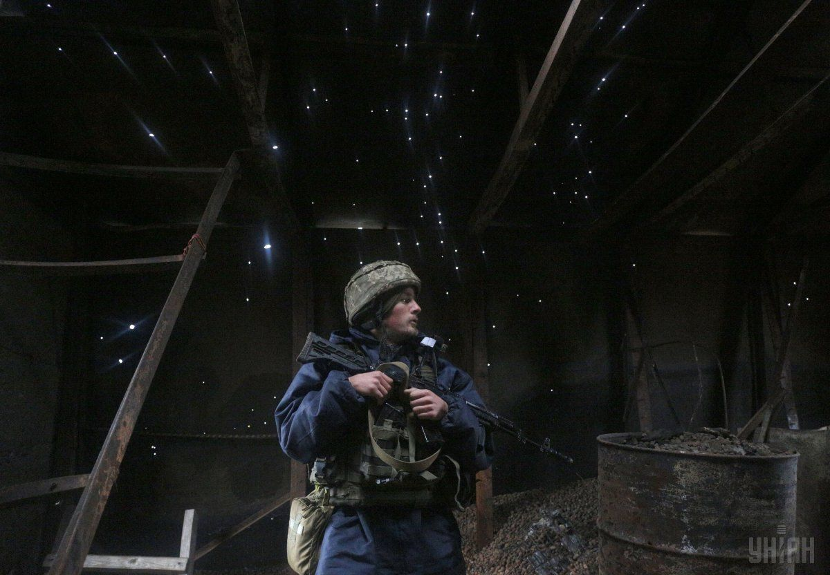 Боевики не прекращают обстрелов на Донбассе / Фото УНИАН