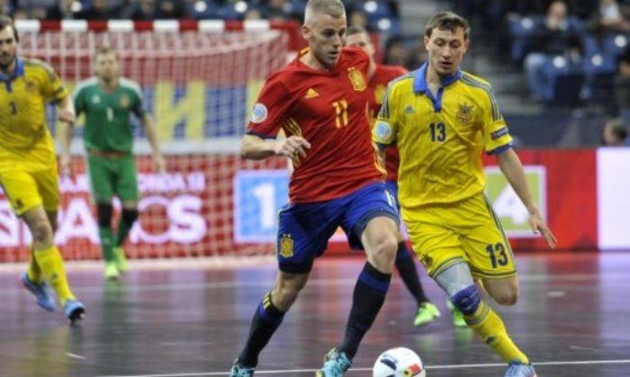 Украинцы и испанцы сыграли вничью / futsal.com.ua