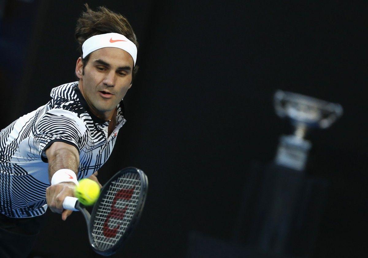 Федрер в пятый раз выиграл турнир в Мельбурне / Reuters