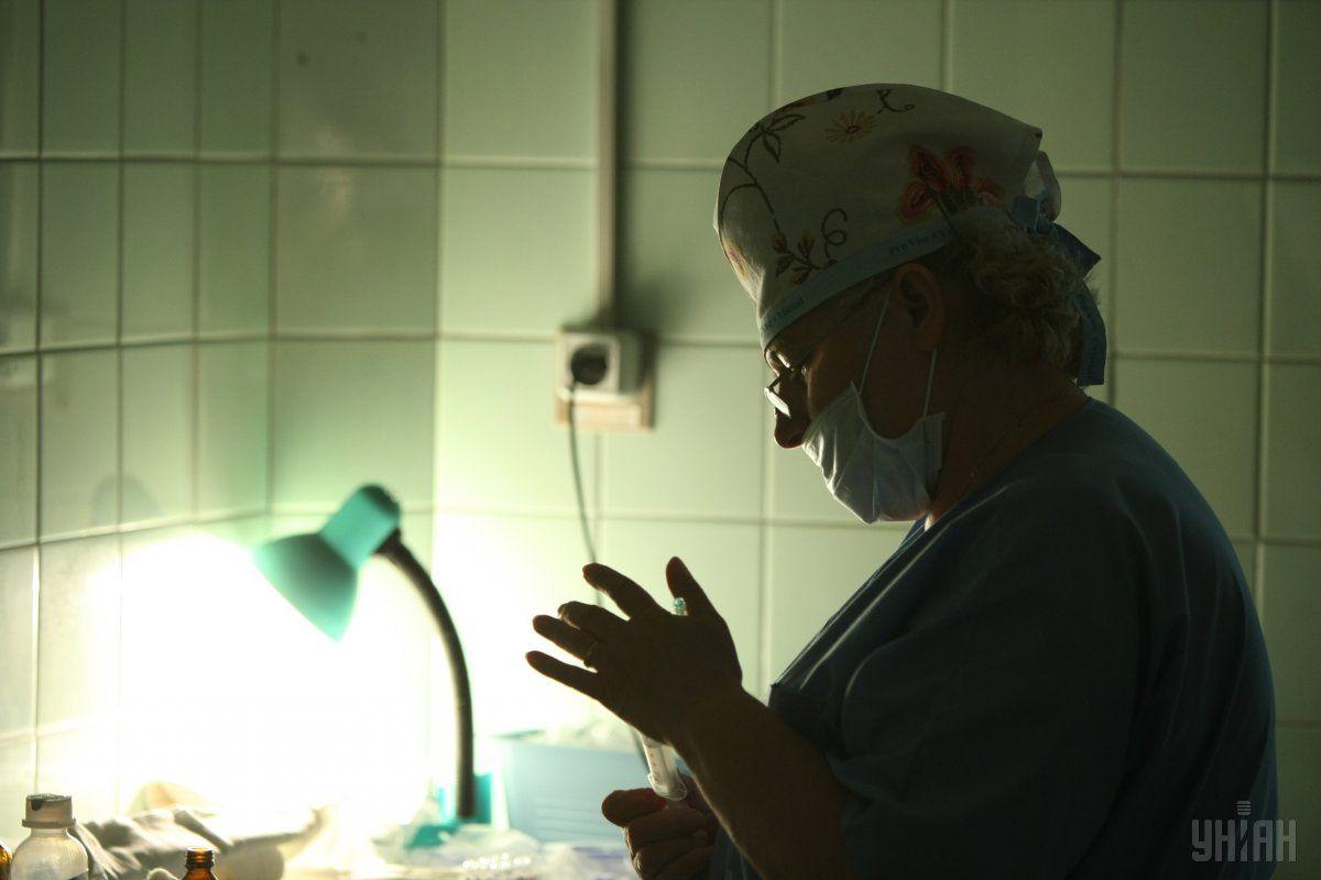 У медиків у Макіївці дуже складна ситуація / фото УНІАН