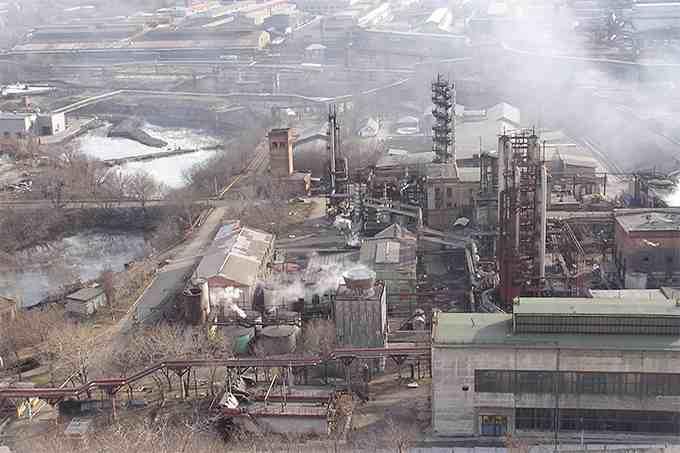 На территории одной только Донецкой области более 3 тысяч промышленных предприятий / doneck-news.com