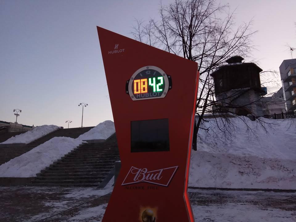 Часы в Екатеринбурге проработали меньше суток / ngzt.ru