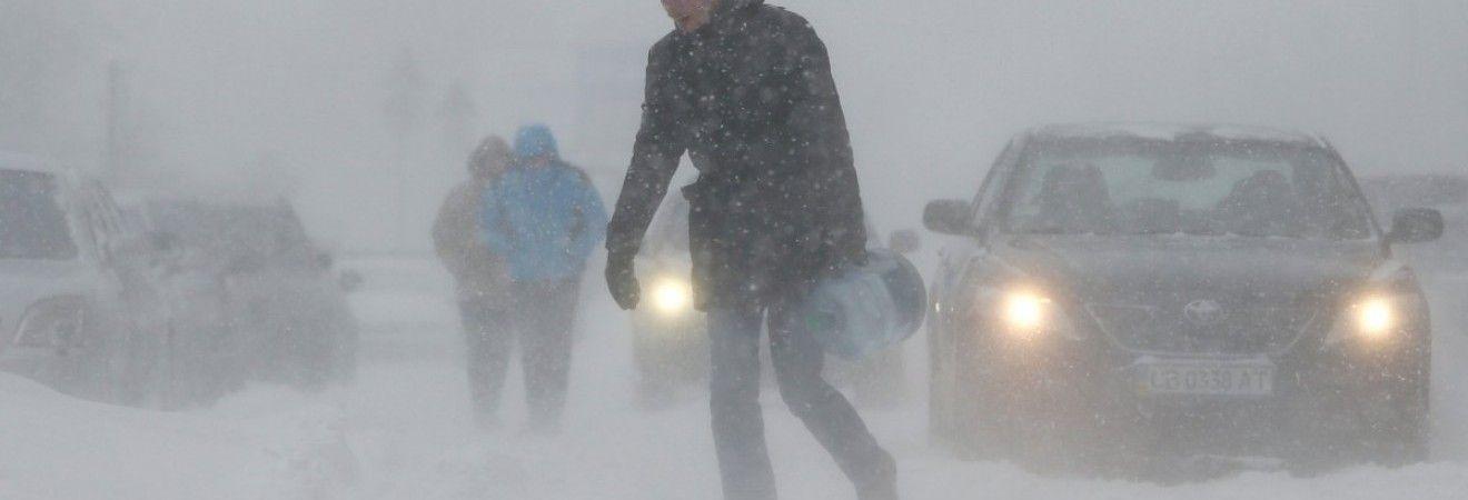 На Одещині очікується новий удар стихії: прогнозують сильний сніг та вітер