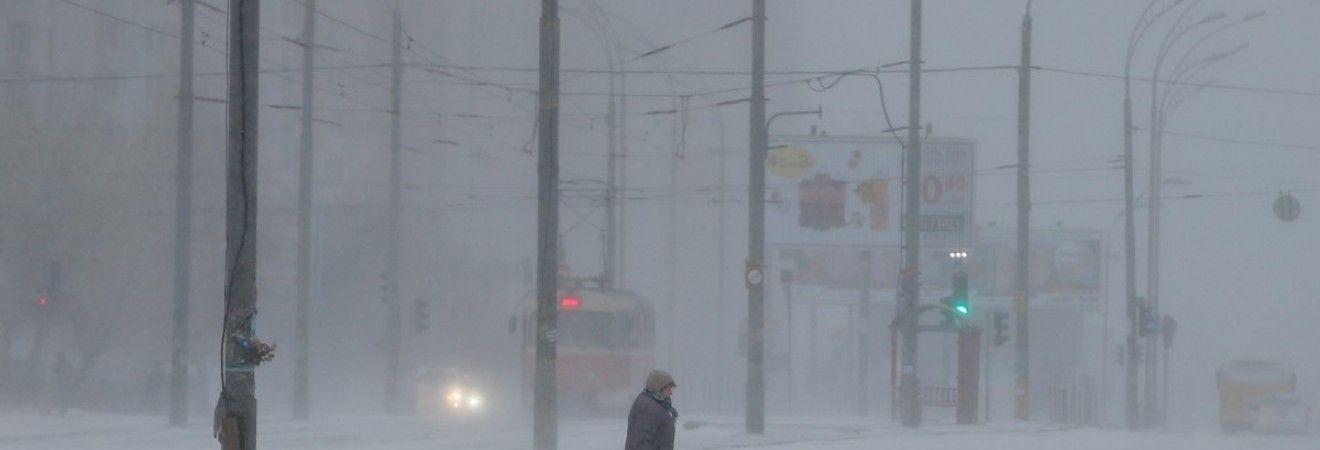 В Україні завтра снігопад, на півдні вночі до -14°
