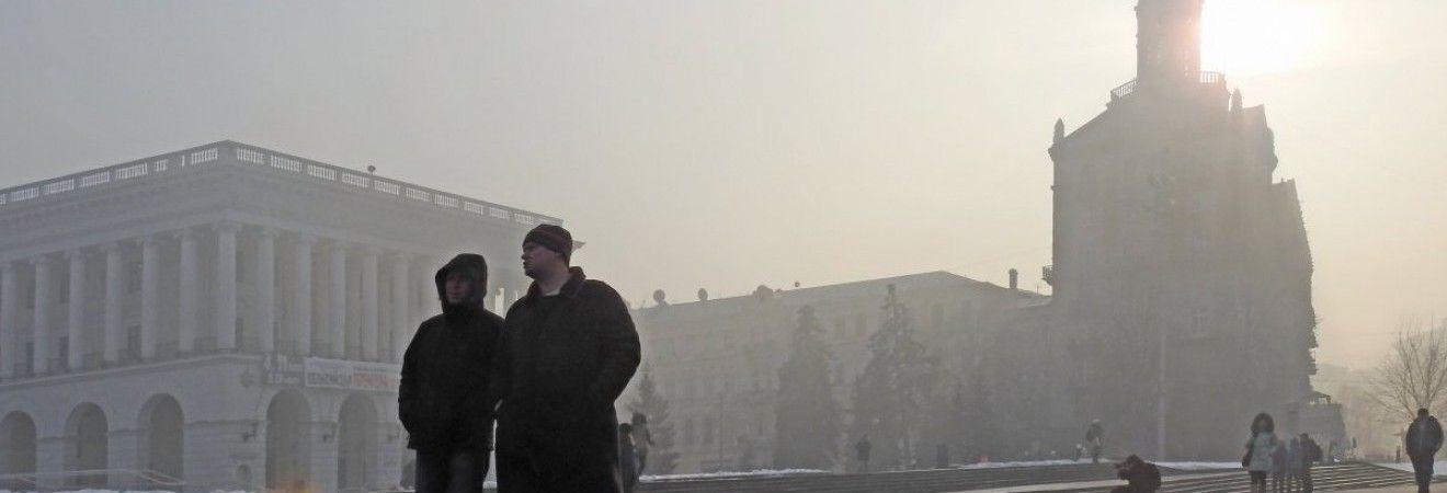 У Києві сьогодні вдень до +3°, без опадів