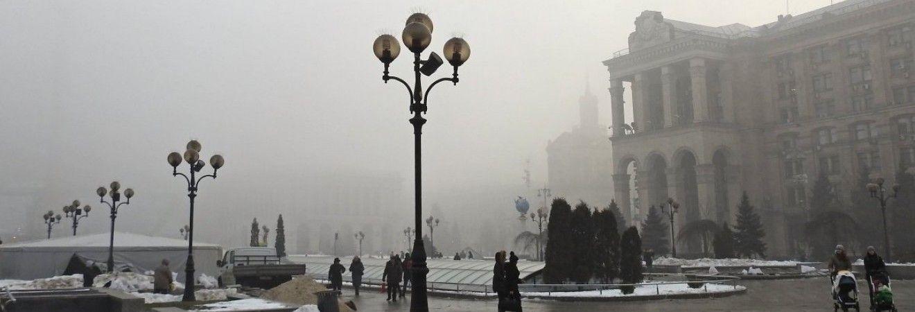 Сьогодні в Києві без опадів, вдень до 0°