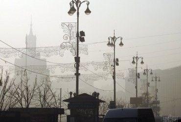 В Киеве завтра без осадков, температура до +1°