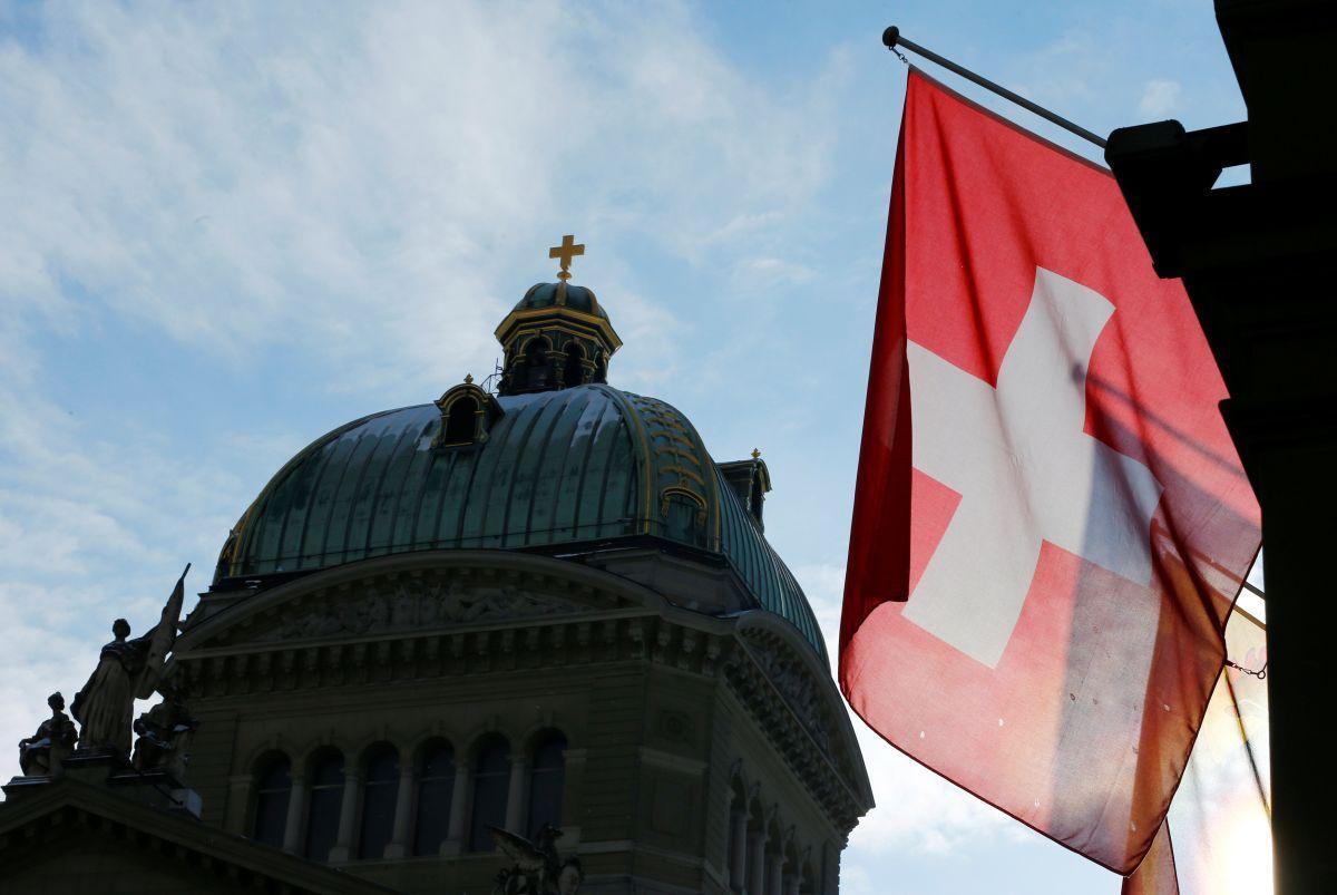 В Швейцарии несмотря на карантин состоялась антирасистская акция/ REUTERS