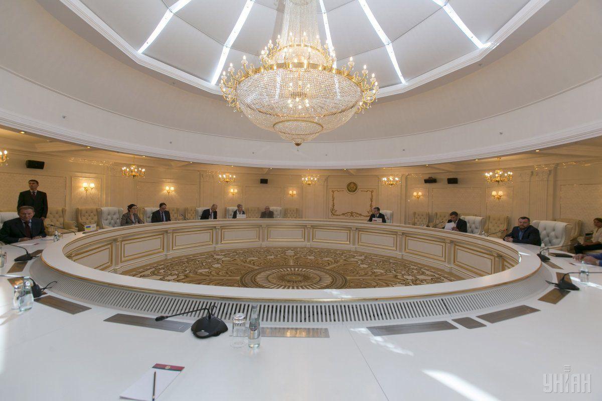 Состоялось очередное заседание ТКГ в Минске / фото УНИАН