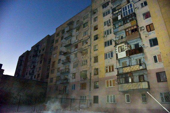 Авдеевка остается без света из-за боев / mvs.gov.ua
