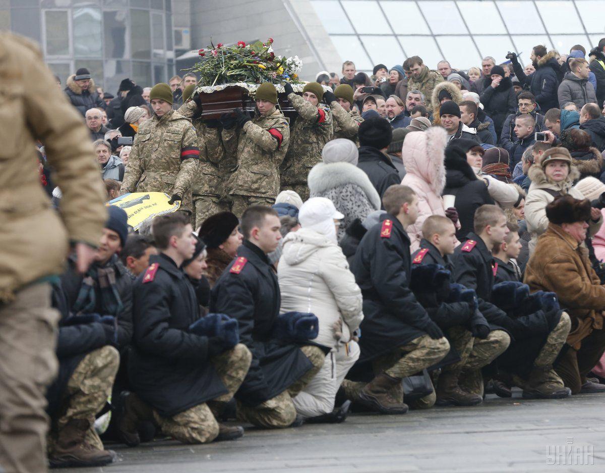 С начала АТО и до сегодняшнего дня в результате боевых действий погибло 2629 военных / Фото УНИАН