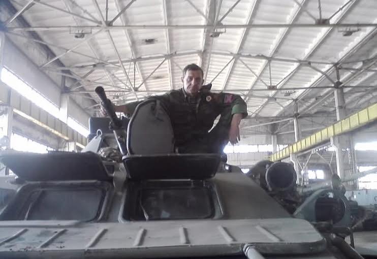 У лютому 2015 року Ерднієв здійснював збройне захоплення м. Дебальцевого  / sbu.gov.ua