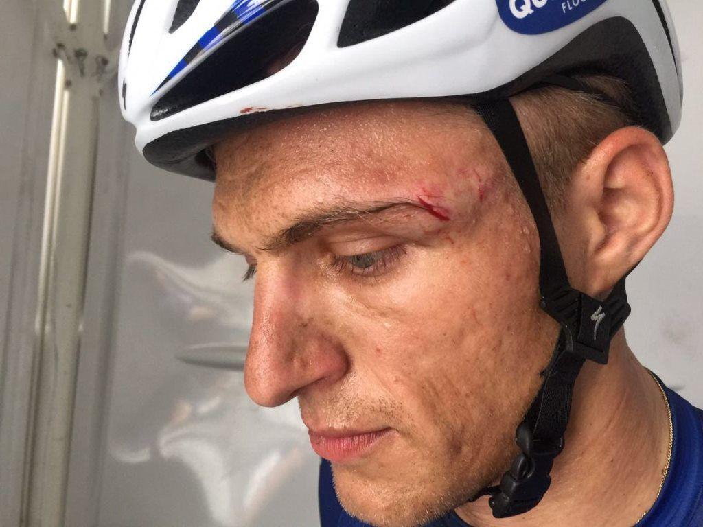 Український велогонщик Гривко не впорався з нервами під час конфлікту з німцем Киттелем / velolive.com