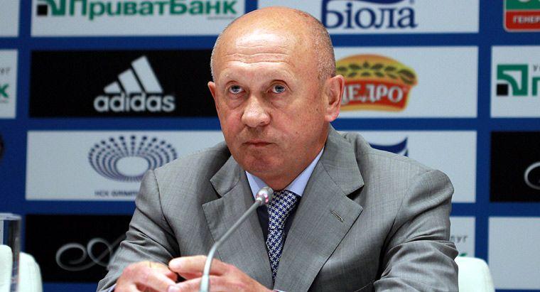 Павлов в качестве тренера киевского