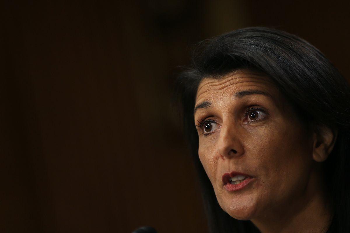 Посол США в ООН Никки Хейли / фото REUTERS